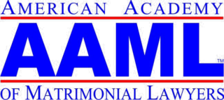 American Academy of Matrimonial Lawyers Badge